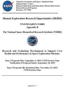 Appendix B HERO NSBRI 7-31-15-1