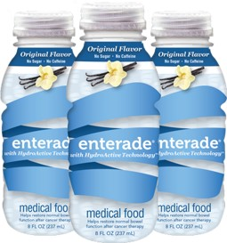 Enterade gives you a sugar-free choice for restoring hydration.